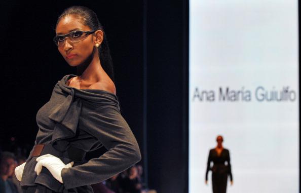 Коллекция Ana Marнa Guiulfo на Перуанской неделе моды. Фото: demodaenperu.com