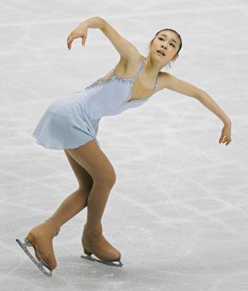 «Полет жаворонка»: произвольная программа на чемпионате мира-2007 в Токио. Фото: TORU YAMANAKA/AFP/Getty Images