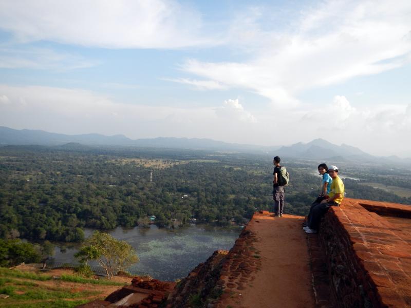 На вершині г. Сигірії. Фото: kwankwan/Flickr