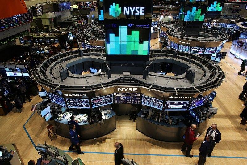Нью-Йорк, США, 20грудня. Нью-йоркську фондову біржу, створену в 1817році, збирається придбати молода компанія «Intercontinental Exchange» за $8,2млрд. Фото: Spencer Platt/Getty Images
