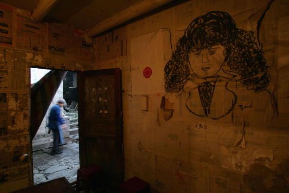 Настенная живопись. Фото: China Photos/Getty Images