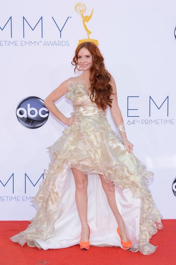 Розкішні сукні знаменитостей на Еммі-2012. Фото: Kevork Djansezian/Getty Images