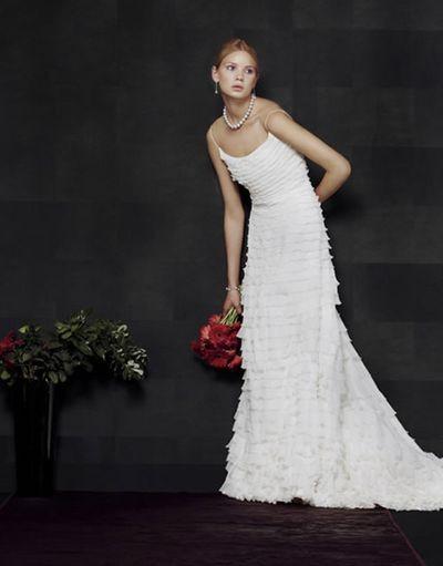 Коллекция свадебных платьев model novias/Фото с efu.com.cn