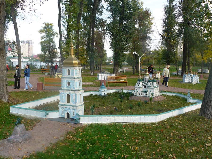 Собор святой Софии. Парк «Киев в миниатюре». Фото: minikiev.kiev.ua