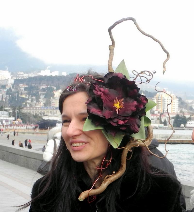 Парад цветочных шляпок прошёл в Ялте. Фото: Алла Лавриненко/The Epoch Times Украина