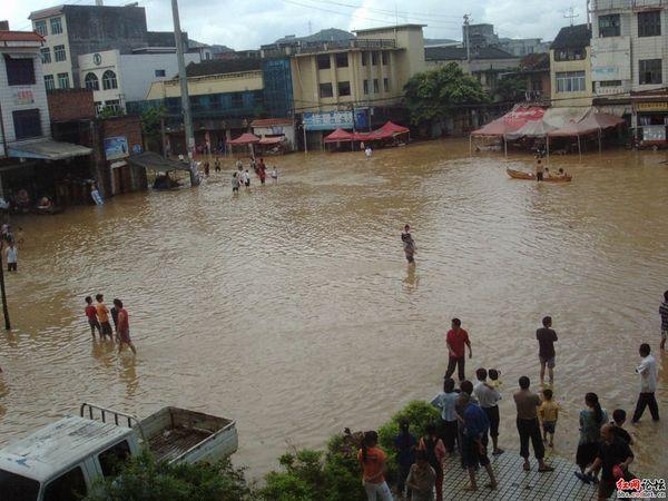 Наводнение в провинции Хунань. Фото с epochtimes.com