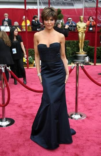 Актриса Лиза Ринна (Lisa Rinna) посетила церемонию вручения Премии Оскар в Голливуде Фото: Frazer Harrison/Getty Images