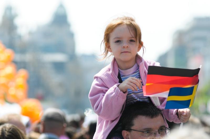 День Европы отпраздновали в Киеве. Фото: Владимир Бородин / EpochTimes.com.ua