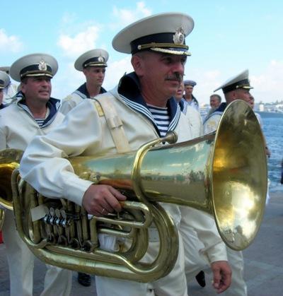 Военные оркестранты. Фото: Алла Лавриненко/The Epoch Times Украина