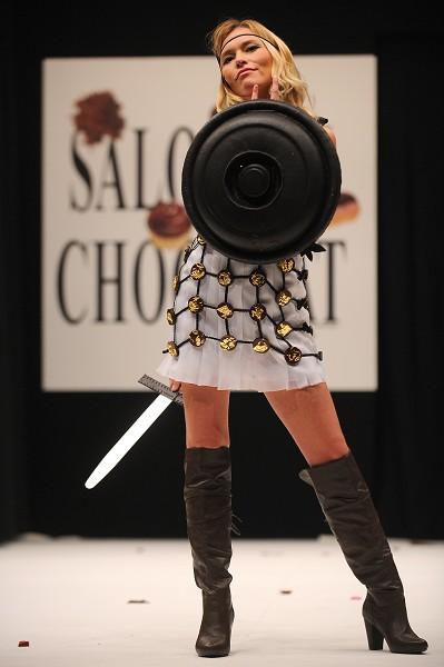 Шоколад Fashion Show в Париже. Фото: Getty Images