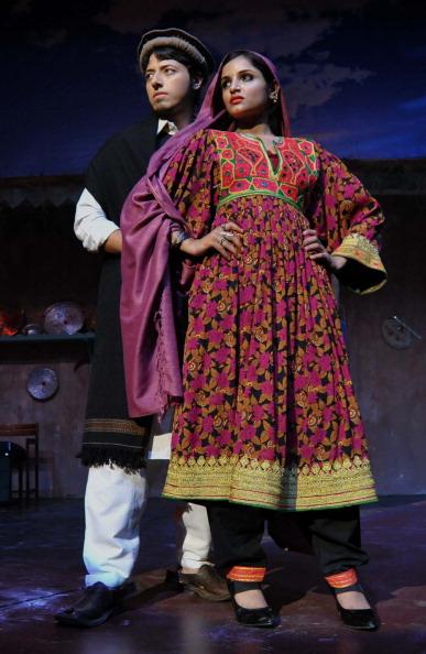 Традиційний одяг на фестивалі у Пешаваре. Фото Majeed/afp/getty Images