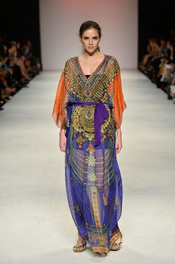 Літні легкі сукні від Aanchal Chanda. Фото: Stefan Gosatti/Getty Images