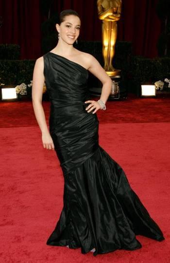 Актриса Оливия Тирлби (Olivia Thirlby) посетила церемонию вручения Премии Оскар в Голливуде Фото: Vince Bucci/Getty Images