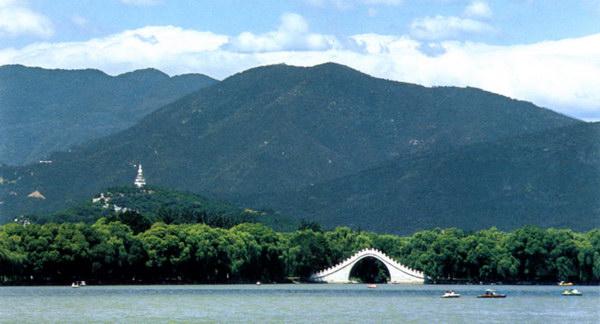 Пейзажі та храми імператорського саду Іхеюань. Фото з aboluowang.com