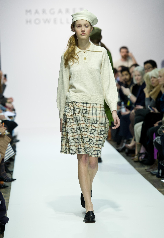 Коллекция осень-зима 2012 от британского дизайнера Margaret Howell на London Fashion Week. Фото: Ian Gavan/Getty Images