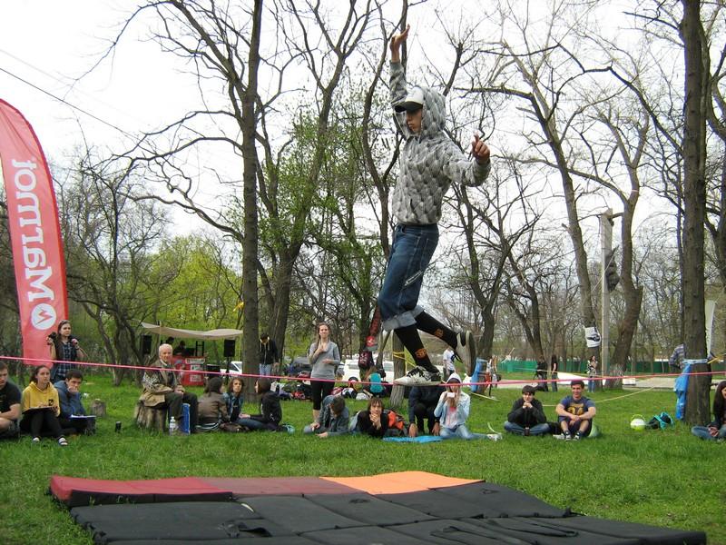 В Днепропетровске состоялся фестиваль равновесия и баланса. Фото: Антон Лунин/Великая Эпоха