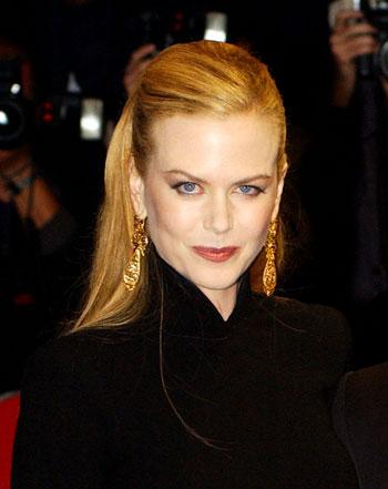 На премьере фильма «Мулен-Руж» в Лондоне 3 сентября 2001 г. Фото: Anthony Harvey/Getty Images