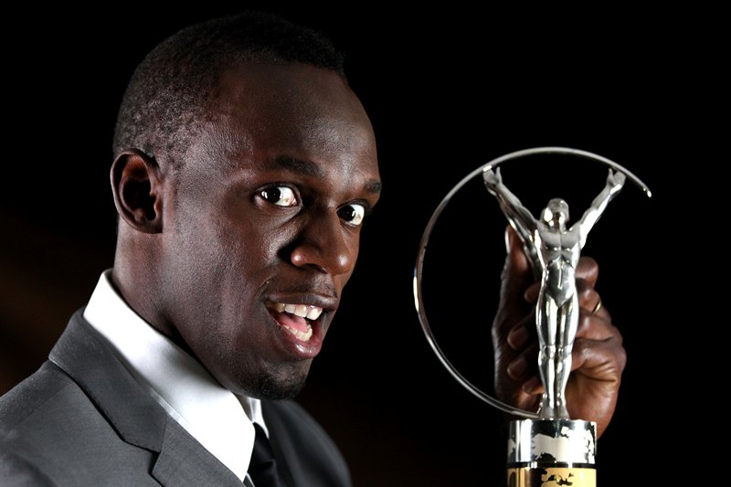 Ріо-де-Жанейро, Бразилія, 11 березня. Спринтер Усейн Болт удостоївся звання найкращого спортсмена року за версією «Laureus World Sports Awards». Фото: Marc Serota/Getty Images For Laureus