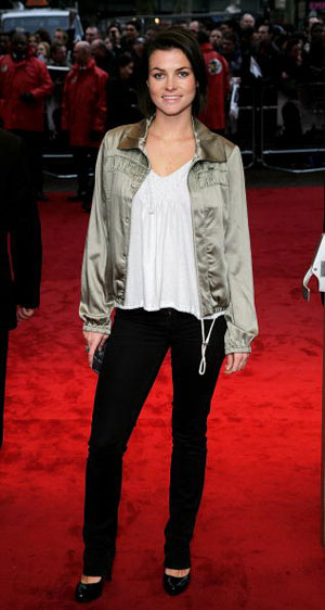 Холли Дэвидсон (Holly Davidson) на премьере фильма Стрелок (Shooter) Фото: Dave Hogan/Getty Images