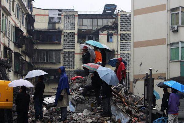 Районы, пострадавшие от землетрясения. Фото с epochtimes.com