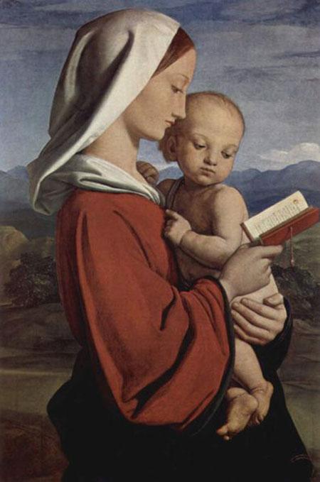 Уильям Дайс. Мадонна. Музей Елизаветы II, Лондон