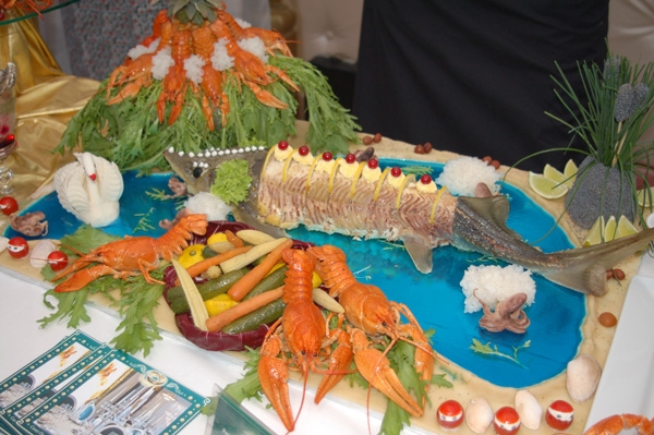 Змагання з кухарського мистецтва пройшли в рамках чемпіонату «Золота Куліна-2009». Фото: Ірина Оширова / The Epoch Times