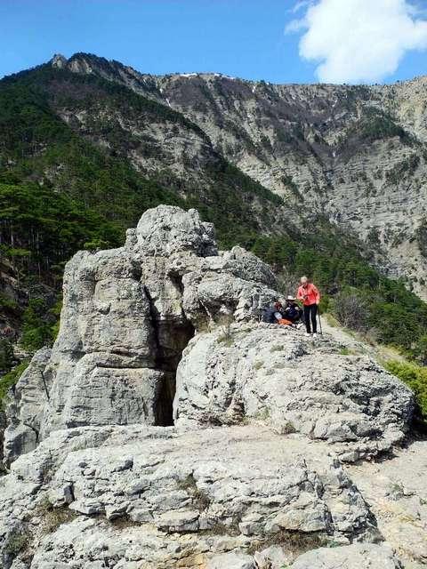 На вершині Хрестової гори. Фото: Алла Лавриненко/EpochTimes.com.ua
