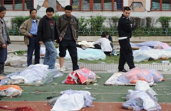 Рятувальні роботи в постраждалих від землетрусу районах провінції Сичуань. Фото: Guang Niu/Getty Images