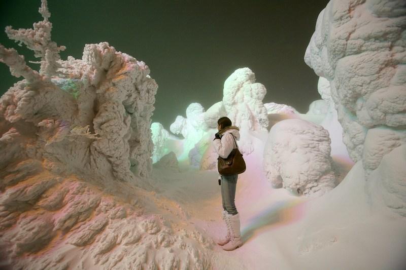 Зимний пейзаж в Ямагата. Фото: Koichi Kamoshida/Getty Images News