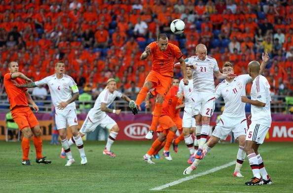 Нідерланди - Данія Фото: Lars Baron, Julian Finney /Getty Images Sport