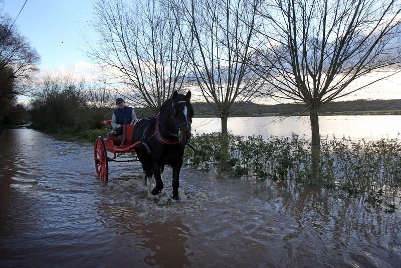 Тонтон, Англия, 21 ноября. Сильные дожди затопили юго-запад страны. Фото: Matt Cardy/Getty Images