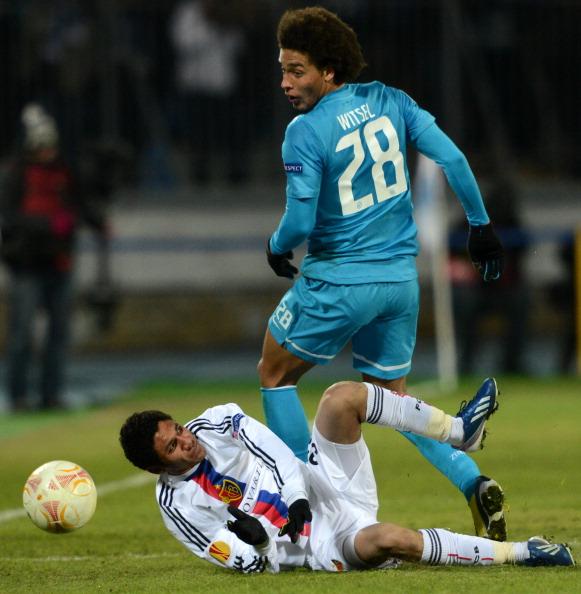 Зенит (Россия) — Базель (Швейцария). Фото: Getty Images Sport