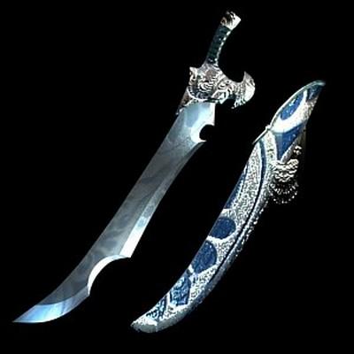 Дорогоцінний меч «холодний місяць». Фото с aboluowang.com