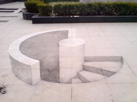 3D малюнки китайського дизайнера. Фото з epochtimes.com
