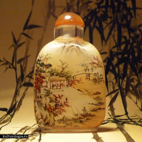 Зачастую использовали стекло, керамику, фарфор, нефрит, бамбук и слоновую кость. Фото: kulturologia.ru