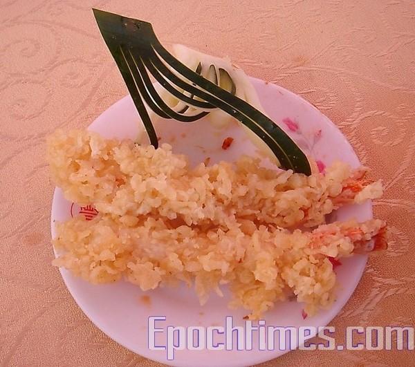 Жареные креветки по-японски