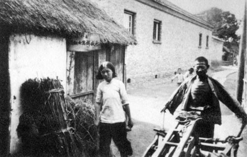 Улицы города Янчжоу. 1937 г. Фото: Ernest H•Forster