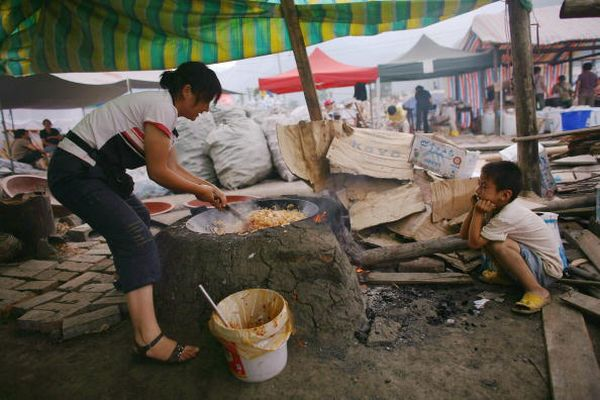 Посёлок Ханьван провинции Сычуань. Фото: Andrew Wong/Getty Images