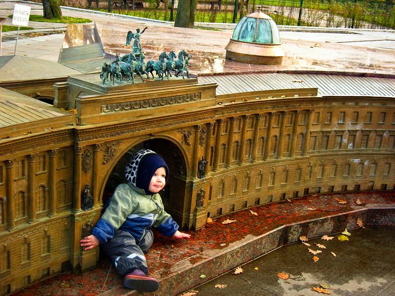 Арка Генштабу і квадрига Аполлона. Фото: Алла Лавриненко/The Epoch Times Україна