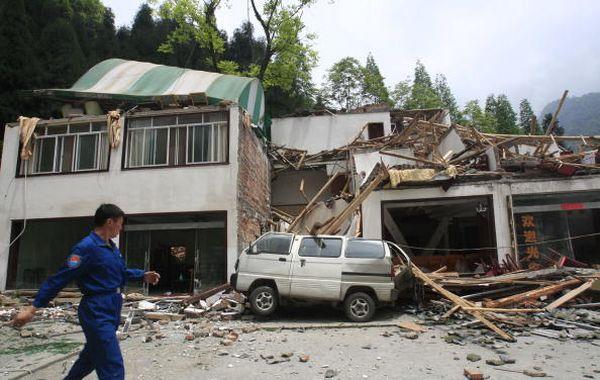 Пострадавшие от землетрясения районы провинции Сычуань. Фото: China Photos/Getty Images
