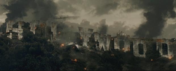 Кадр с фильма «Обитель зла: Потусторонняя жизнь»