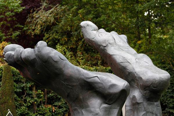 Виставка скульптур Деміена Херста в Chatsworth House. Фото: Christopher Furlong / Getty Images