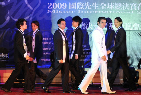 Конкурс Мистер интернэшнл 2009. Тайбей,Тайвань. Фото: SAM YEH/AFP/Getty Images