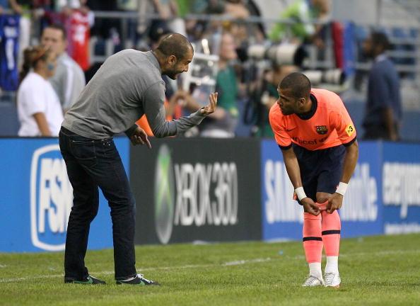 Барселона-Сиэттл СаундерсФото:Otto Greule Jr /Getty Images Sport