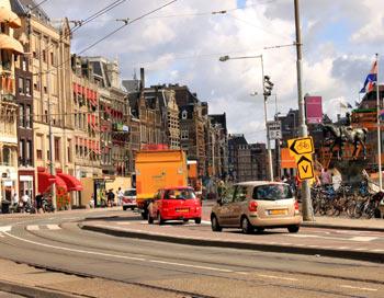 Амстердам. Автомобільна магістраль. Фото: Ірина Рудська / The Epoch Times