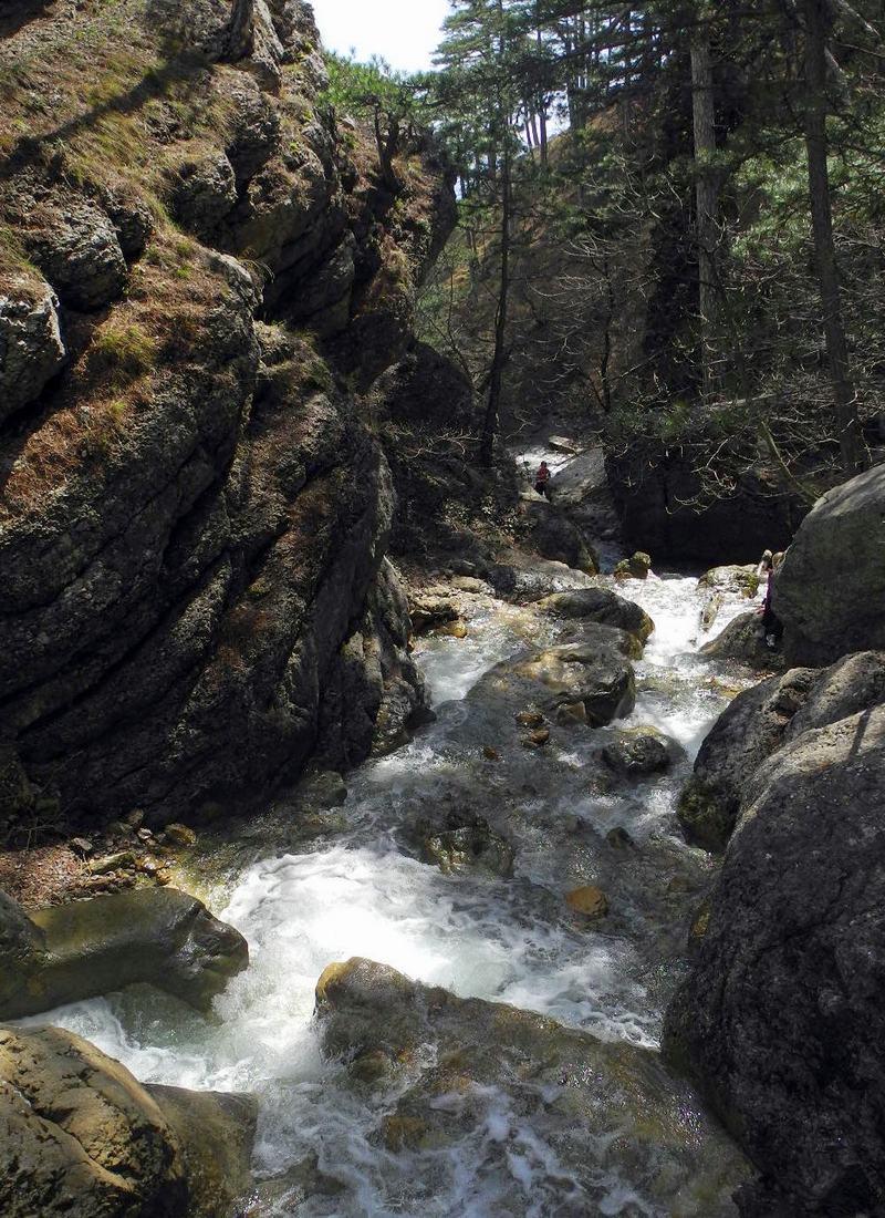 Гірська річка Водоспадна. Фото: Алла Лавриненко/EpochTimes.com.ua