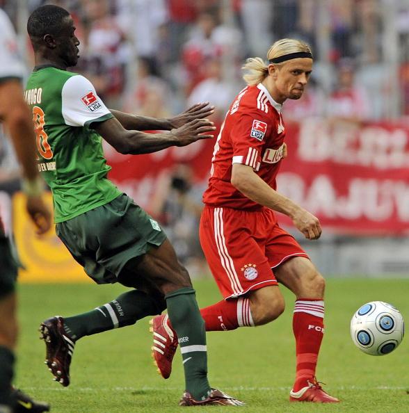 «Бавария» – «Вердер» Фото:Lars Baron,JOERG KOCH,Lars Baron/Getty Images Sport