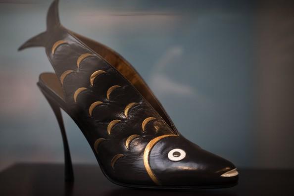 Виставка «Взуття: французька пристрасть». Фото: JOEL SAGET/AFP/Getty Images