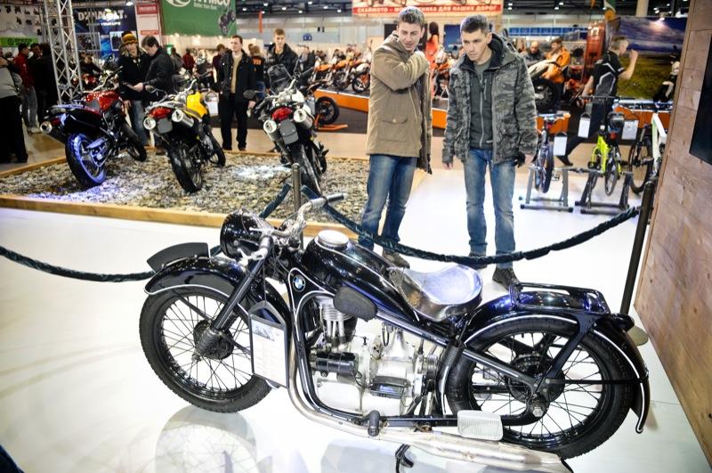 Виставка «Мотобайк 2013» відкрилася Києві 14 березня 2013 року. Фото: Володимир Бородін / Велика Епоха