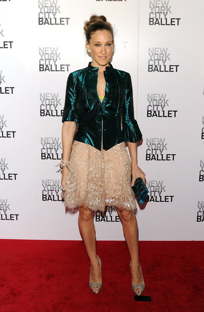 Акторка Сара Джессіка Паркер у Нью-Йорку. Фото: Andrew H. Walker/Getty Images